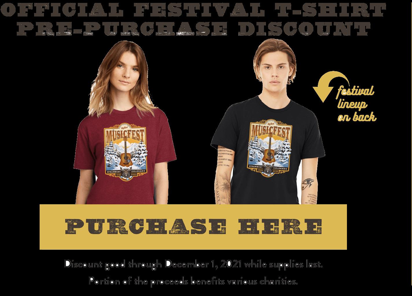 Purchase T-Shirts